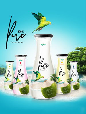 Coconut water with Pure